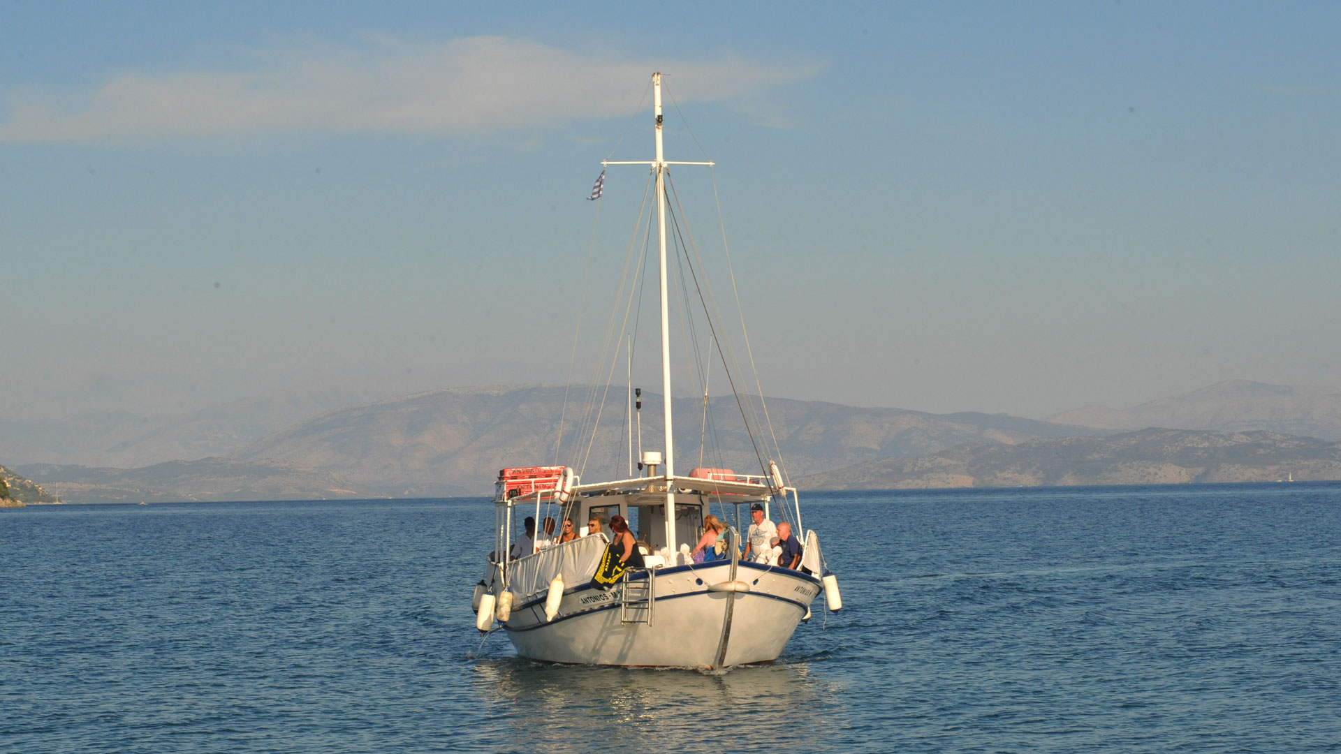 Boat Trips in Corfu